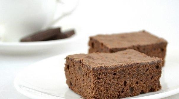 нежное пирожное Брауни