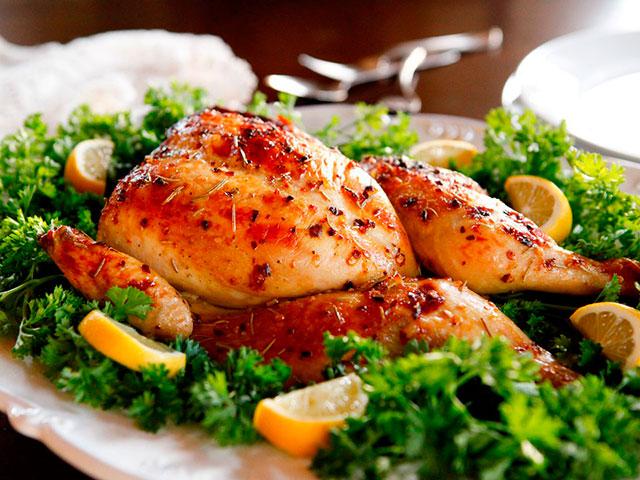 курица в фальге и в духовке рецепт