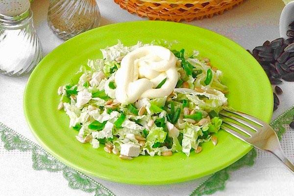 Салат д рецепт с