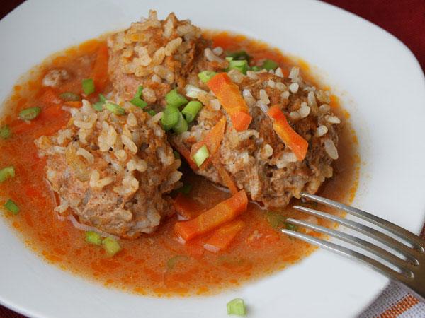 Ежики в духовке с томатной пастой пошаговый рецепт