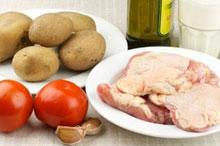 Список продуктов для запеканки из курицы и картофеля
