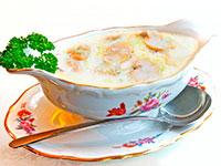 Классический грибной соус со сливками