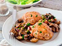 Как готовить курицу с грибами