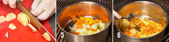 Рецепт приготовления горохового суп-пюре