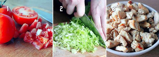 весенний салат рецепт с фасолью и