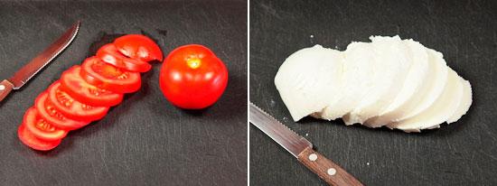 рецепт приготовления итальянского салата Капрезе