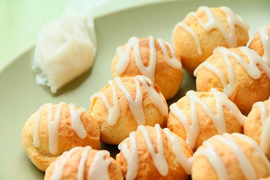 Творожное печенье с глазурью