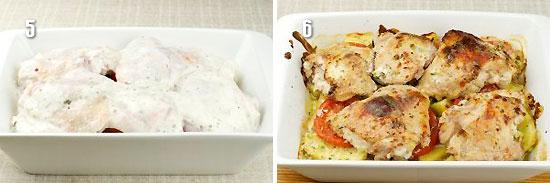 Запеканка из курицы и картофеля