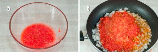 Пассеровка из овощей для Рататуя