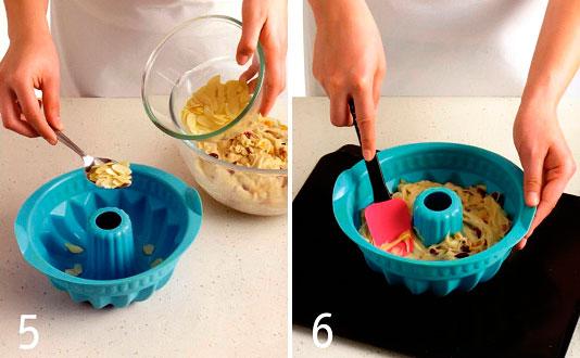Приготовление теста для кекса