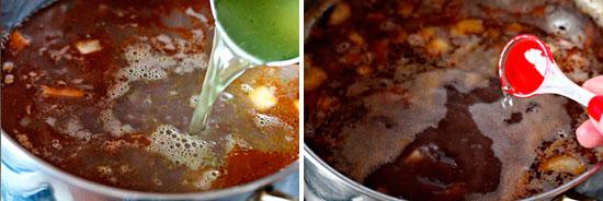 Овощной суп с бобами