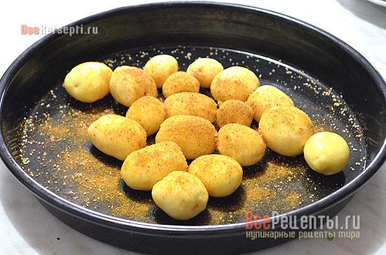 Картофель со специями