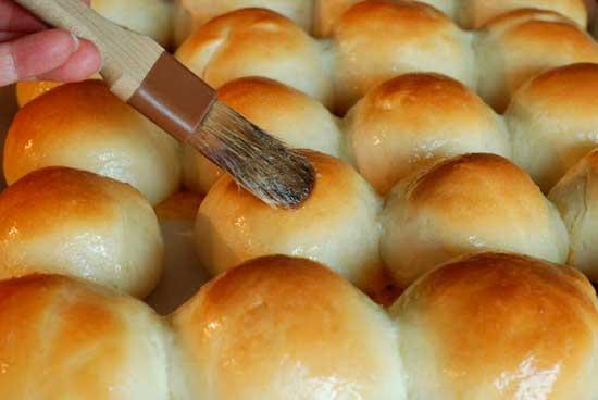 Пышные булочки с сыром