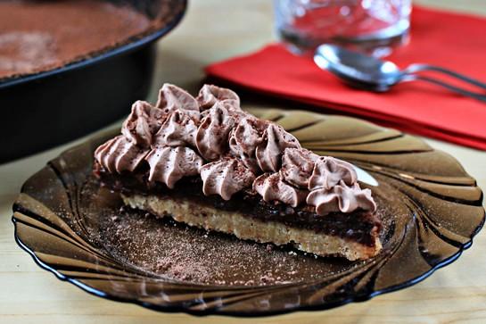 Шелковый шоколадный торт