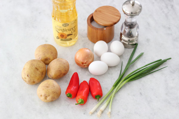 Яичница с тушеными овощами рецепт