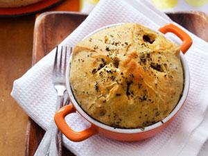Овощной пирог с сыром рецепт с фото