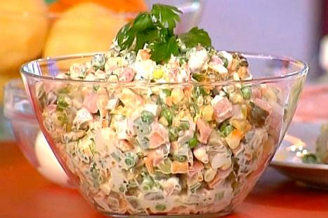 Салат Оливье – подборка лучших рецептов