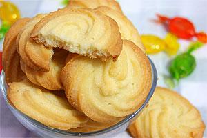 Нежное сливочное печенье