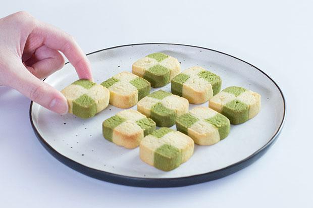Песочное печенье с чаем фото