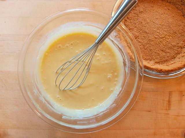 Пирог с лаймовой начинкой