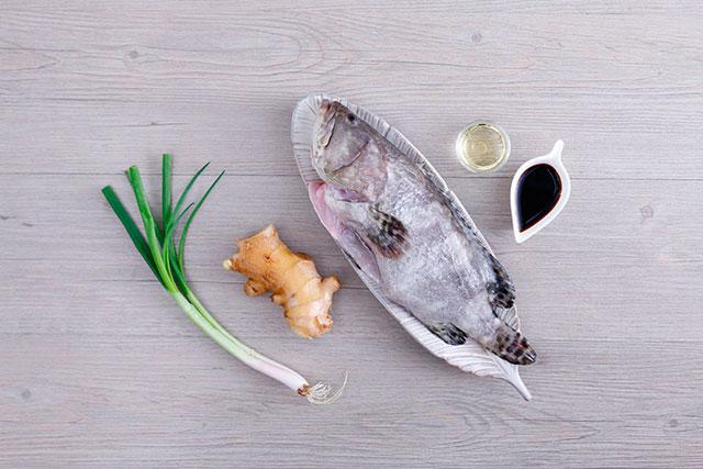 Продукты для приготовления рыбы в духовке