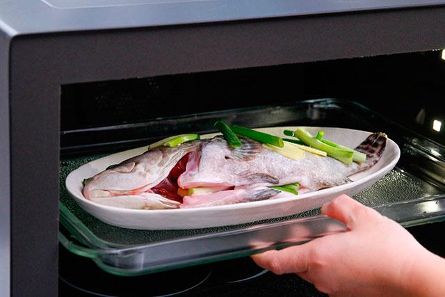 Морской окунь в духовке