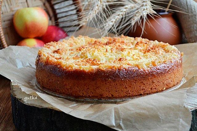 Творожной пирог фото