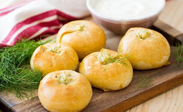 Пирожки с картофелем в духовке