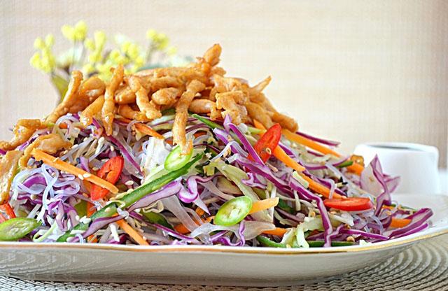 Пекинский салат с фунчозой рецепт