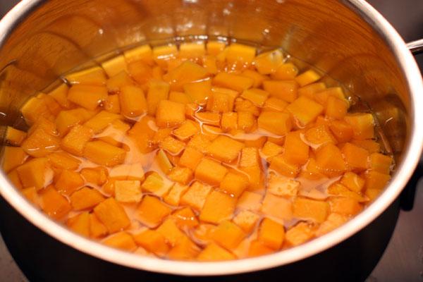 Приготовление тыквы