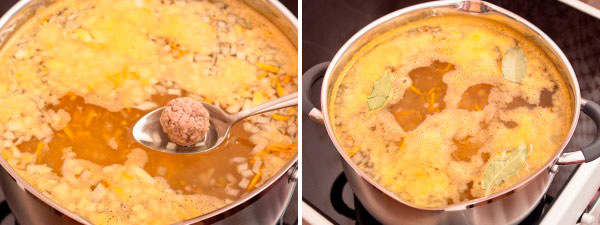 Вкусный суп из фрикаделек