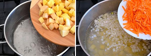 Суп с фрикадельками и вермишелью приготовление