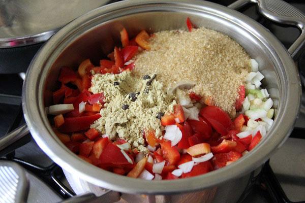 Домашний кетчуп приготовление
