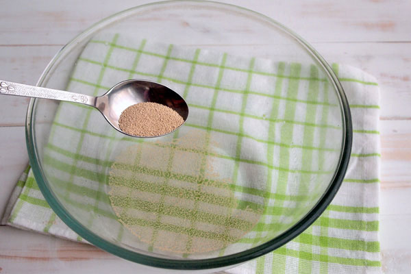 Сдобное дрожжевое тесто на сметане