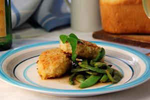 Рыбные зразы с овощами фото