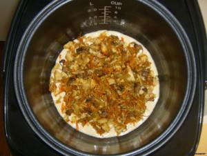 Как приготовить заливной пирог в мультиварке