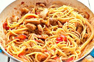Спагетти с мясом – Как приготовить пасту с мясом