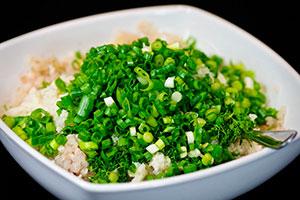 Рыбные котлеты с рисом