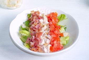 Кобб салат – классический рецепт