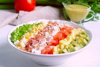 Кобб салат фото