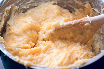 Гужеры – заварные булочки с сыром