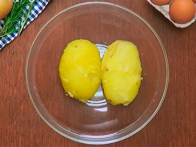 Картофельный пирог из бекона в духовке