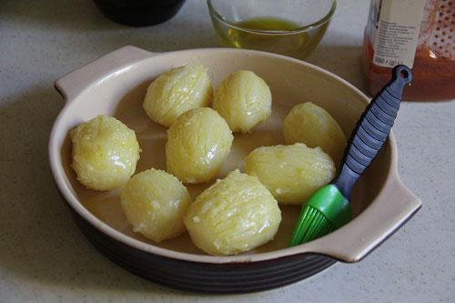 Картошка отваренная в воде
