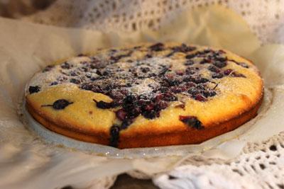 Вкусный пирог со смородиной фото