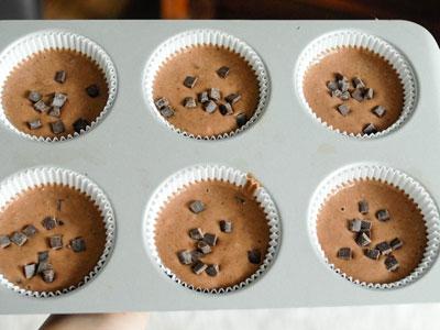 Домашние маффины с шоколадом
