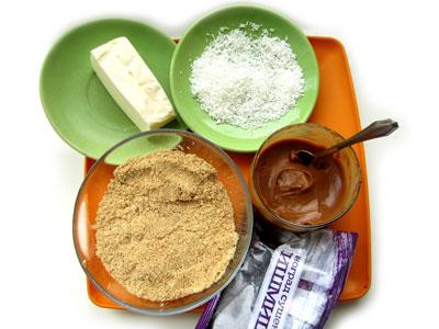 Ингредиенты для домашних конфет