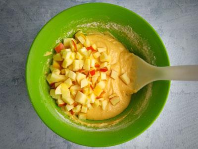 Творожное тесто для с яблоками