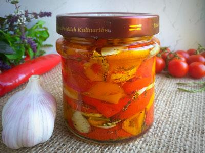 Вяленый перец с помидорами рецепт