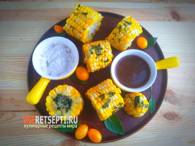 Рецепт кукурузы в микроволновке